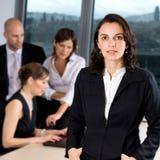 女性经理 免版税库存图片