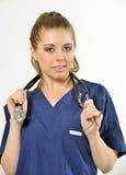 女性医疗保健专家 免版税库存照片