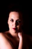女性画象 免版税图库摄影