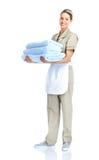女服务员 免版税库存照片