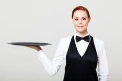 女服务员 免版税库存图片