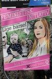 女权INITIVATE名单Q 库存照片