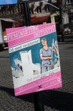 女权INITIVATE名单Q 免版税库存照片
