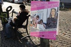 女权INITIVATE 库存照片
