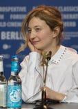 女演员在Berlinale期间的晨曲Rohrwacher 2018年 免版税库存图片
