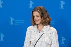 女演员在Berlinale期间的玛里Baeumer 2018年 免版税库存照片