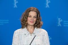 女演员在Berlinale期间的玛里Baeumer 2018年 库存照片