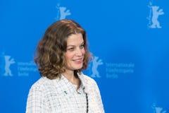 女演员在Berlinale期间的玛里Baeumer 2018年 库存图片