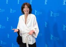 女演员在Berlinale的Leonore Ekstrand姿势2018年 库存照片
