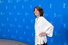 女演员在Berlinale的Leonore Ekstrand姿势2018年 免版税库存照片