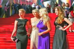 女演员莫斯科电影节的安娜Gorshkova 库存图片