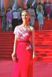 女演员莫斯科电影节的斯韦特兰娜伊万诺娃 免版税库存照片