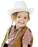 女牛仔纵向 免版税图库摄影