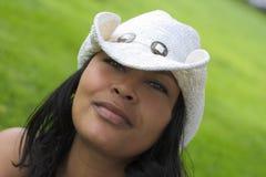 女牛仔 免版税图库摄影