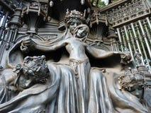 女王亚历山德拉纪念品,伦敦 库存照片