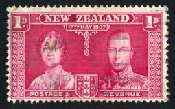 女王伊丽莎白和乔治六世国王 库存照片