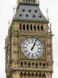 女王伊丽莎白塔在议会议院的大本钟伦敦  库存照片