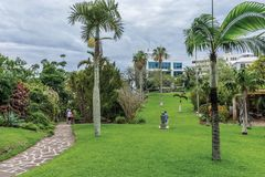 女王公园百慕大 免版税库存图片