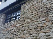 女王玛丽亚老城堡细节在巴尔奇克,保加利亚 库存照片