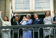 女王玛格丽特二世嗯生日 免版税库存照片