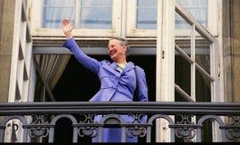 女王玛格丽特二世嗯生日 免版税库存图片