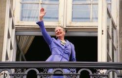 女王玛格丽特二世嗯生日 库存图片