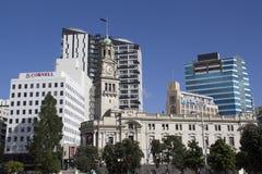 女王街道的,新西兰奥克兰城镇厅 免版税库存照片