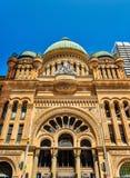 女王维多利亚大厦在悉尼,澳大利亚 在1898年修造 库存照片