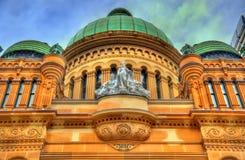 女王维多利亚大厦在悉尼,澳大利亚 在1898年修造 免版税库存图片
