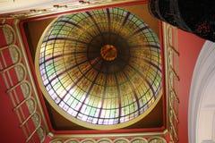 女王维多利亚大厦的圆顶在悉尼 免版税库存照片
