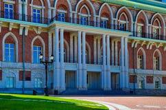 女王/王后宫殿在Tsaritsino 图库摄影