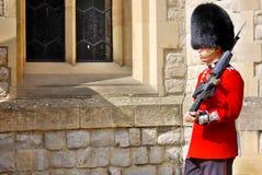 女王/王后的卫兵 免版税库存照片