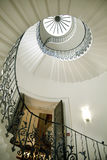 女王/王后的宫殿郁金香台阶, 1619 被修造了作为对托特宫殿的附属 库存图片
