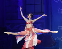 """女王/王后的跳舞芭蕾""""One一千和一Nights† 库存照片"""