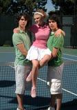女王/王后网球 免版税库存图片