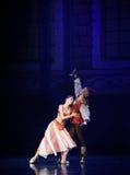 """女王/王后请求从国王芭蕾""""One一千和一Nights†的饶恕 免版税库存照片"""