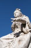 女王/王后雕象维多利亚 免版税库存图片