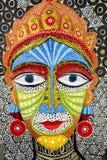 女王/王后面孔大大小面具 免版税库存照片
