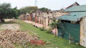 女王/王后` s家的贾夫纳-斯里兰卡的废墟 免版税库存照片