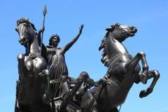 女王Boudica 免版税库存照片