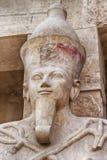女王Hatshepsut雕象 免版税库存图片