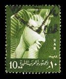 女王Nefertiti,国际博物馆星期(联合国科教文组织),博物馆ser 免版税库存照片