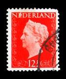 女王Wilhelmina (1880-1962), serie,大约1948年 库存照片