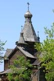 贞女的诞生的教会 库存图片