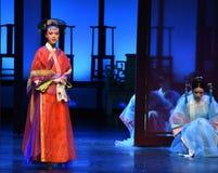 女皇入宫殿现代戏曲女皇的华费在宫殿 库存图片
