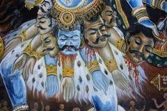 女神印地安人 库存图片
