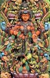 女神印度lakshmi 库存图片