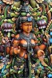 女神印度lakshmi 免版税库存照片