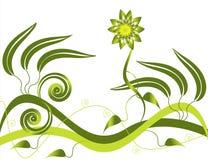 女神绿叶 免版税库存照片