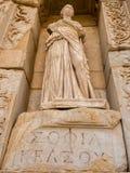 女神雕塑在以弗所 免版税库存照片